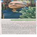 """דני נבחר ע""""י עיתון מעריב כאיש היובל בעל אצבעות ירוקות"""