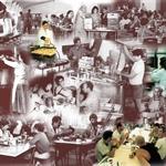 עיצוב קיר חדר אוכל